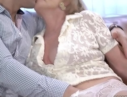 Kinky granny Pervade G needs some cock