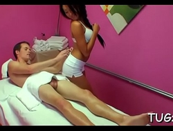 Massage mixed with breathtaking sex