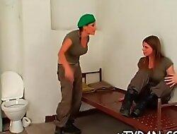 Despondent mistress tortures bondman