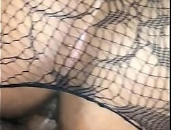 Sexy Asian fishnets