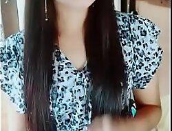 Myanmar long hair girl
