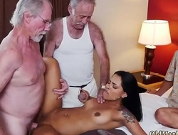 Mature woman seduces young girl first time Staycation with a Latin