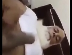 Maulana playing with small dick