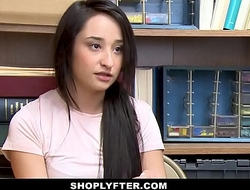 ShopLyfter - Teen Pays Security In Sex