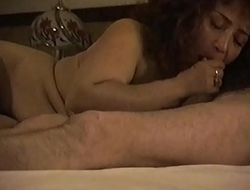 Julieta mamando verga
