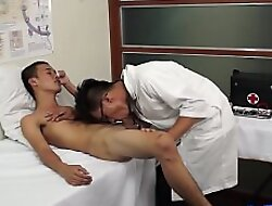 Examined twink barebacked by his asian contaminate