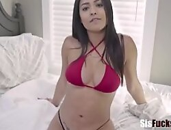 Devilish Busty Thick SISTER Fucks Brother - Serena Santos