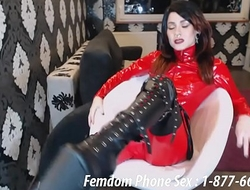 Foot and Shoe femdom phone sex fantasy