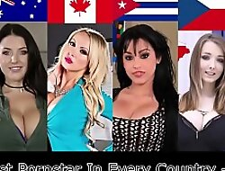 The Best Pornstar Fro Every Country - Part 1