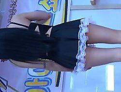 公众号【91报社】护士小姐姐超短裙户外高跟诱惑舞蹈