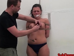 Whipped bondage a load off one's feet restrained for toying