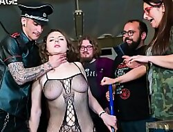 FORBONDAGE - Russian Unspecified Sofia Frizzled Receive Her BDSM Humiliation With an increment of A Cock