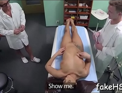 Wild sex takes place inside fake hospital