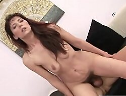Young looking Hairy GILF Gina Red enters Toy and Orgasm Conurbation