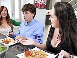 Redhead MOM Steals Their way Daughter's Boyfriend- Dani Jensen