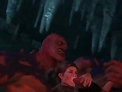 Gangbang 3D Demon Hentai