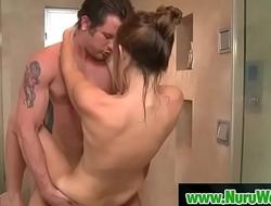 Sex during Nuru massage - BradTyler xxx video  CasanaLei