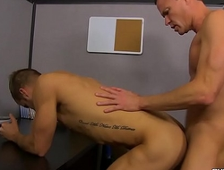Hot jocks Dan and Josh feast on each others hard thick dicks