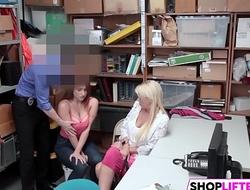 Herculean Tits Gal Skylar Gets Fucked For Theft