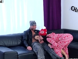 Wendy Moon and Mea Melone go Crazy in a Nasty Group Fuck