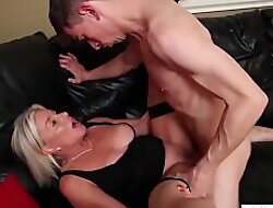 Sexy mature light-complexioned lets young stud fuck will not hear of right
