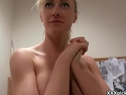 Public Fuck For Cash WIth European Teen Slut 29