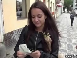 Public Fuck For Cash WIth European Teen Slut 17