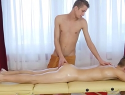 Tom Fiaty and Jose Manuel Hot Gay Sexual relations Massage