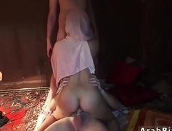 Muslim punished Local Working Girl