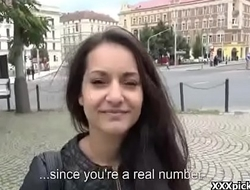 Public Hardcore Fuck With Teen Euro Slut For Cash 20
