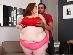 SSBBW Julie Ginger Gets Her First Taste Of Latino Cock