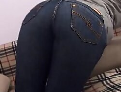 These super tight skinny jeans are hard on every side acquire on