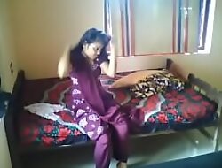 Hot Indian couple homemade accouterment 1