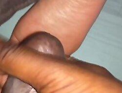 Cum on sleeping feet