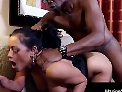 Cambodian Cougar MaxineX Baneful Dicked By Big Unscrupulous Cock!