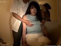 Brunette Asian enjoys cock more each be required of the brush furry holes - Take at hotajp com