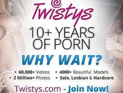 Twistys - (Lauren Clare) starring at Let Me Fright Your Muse