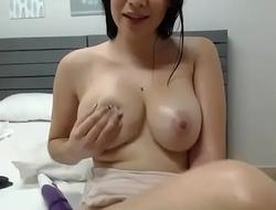 Amateur teasing wet tits