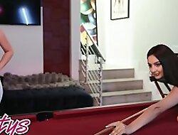 Soon Girls Play - (Lena Paul, Eliza Ibarra) - Take a Shot added to Dive In - Twistys