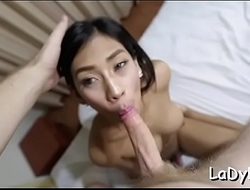 Sissy lady-man craves for anal sex