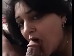 aunty giving me blowjob