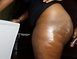 Fat Black Juicy Booty Hard Fuck