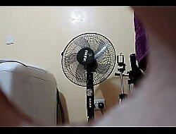 Indian Stepsister Adjacent Camera Walks Naked As I Overhear (5)