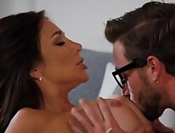 Jaclyn Taylor is a busty MILF that loves having sexual relations with her hot stepson Lucas Frost.