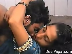Indian Village Couple Rough Sex Get hitched Hairy Pussy Fucked