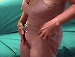 Magniloquent Nipples Granny Step Will not hear of Big Clit