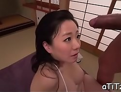 Breasty japanese's explicit trio