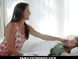 FamilyStrokes - Sweet Stepmom Fucks Son To Feel Change for the better