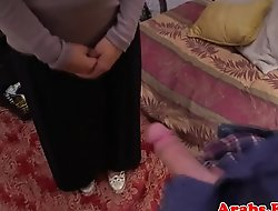 Arabic babe pussyfucked by forbidden lover