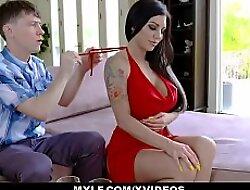 MYLF - Matured Milf Seduces A Young Brace Into Hardcore Sex